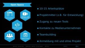Präsentation zum media.lab Bayern