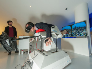 Virtual Reality-Simulator Birdly