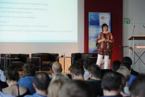 Karin Hollerbach-Zenz von der AGF