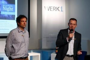 Dr. Franz Glatz und Stefan Sutor