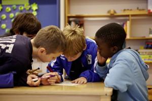 Grundschulkinder zeigen Medienkompetenz