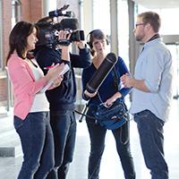Digitaljournalismus - Studenten der Hochschule Ansbach