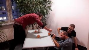 Videodreh im Mobile Reporting Workshop