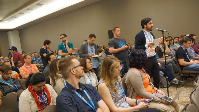 Publikumsfragen auf der SXSW