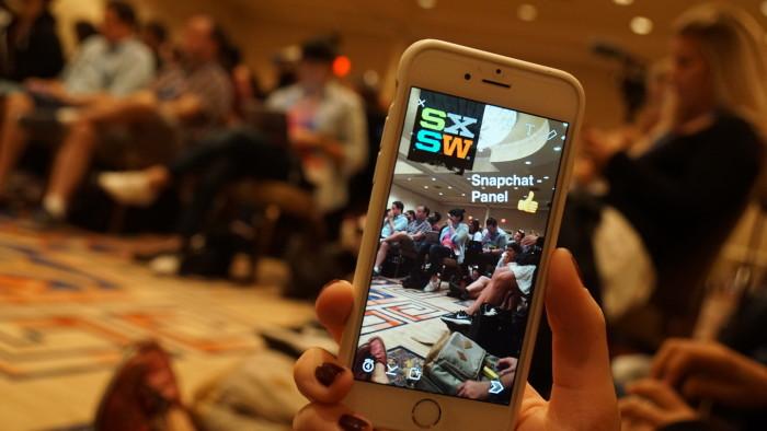 Snapchat-Panels auf der SXSW 2016