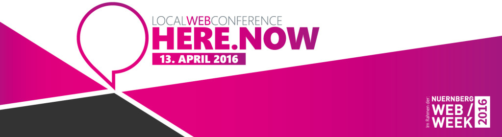 Local Web Conference am 13.4.2016 in Nürnberg