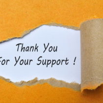 Thank you for your support !
