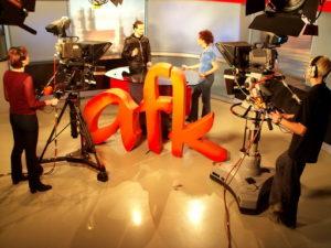 afk tv - das alte Studio