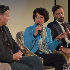 Prof. Dr. Petra Grimm, Leiterin des Instituts für Digitale Ethik an der Stuttgarter Hochschule der Medien und Podiumsteilnehmerin bei den Augsburger Mediengesprächen am 11.11..2019