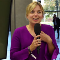 Katharina Schulze auf den Medientagen München 2019
